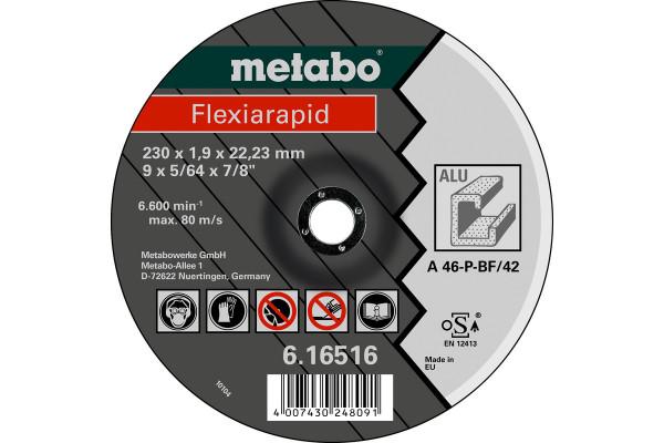 Trennscheibe Flexiarapid125x1,0x22,23Alu,1