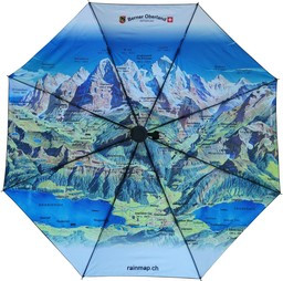 Panoramaschirm Berner Oberland