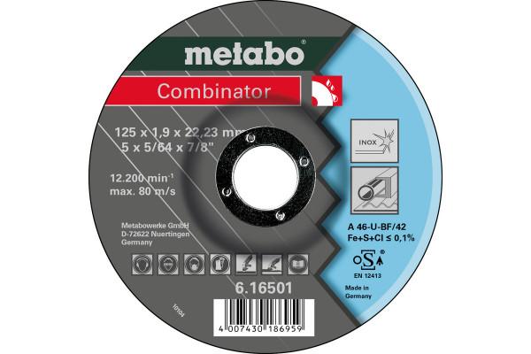 Trennscheibe Combinator 125x1,9x22,2,3 Inox A46U,2