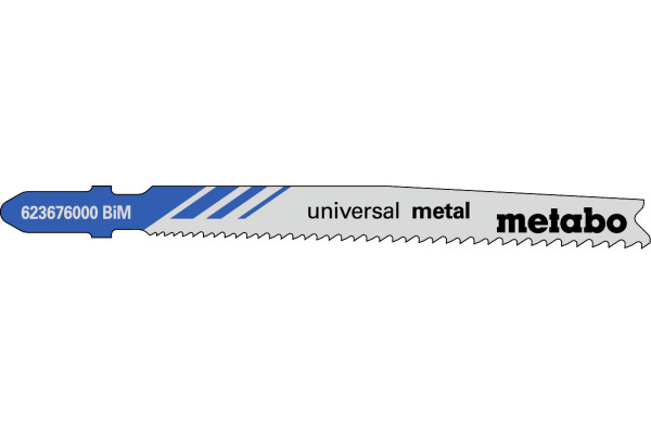 25 Stichsägeblätter T123XF/BIM Metall/DickDünn <30