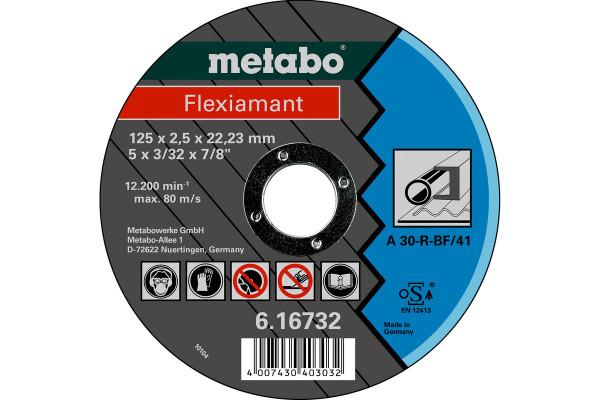 Trennscheibe Flexiam. 125x2,5x22,2, Stahl A30R,1