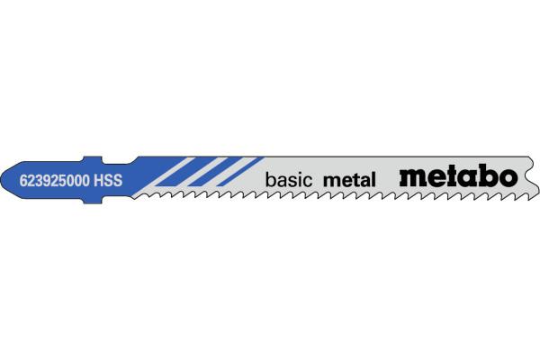 5 Stichsägeblätter T118B/HSS/Prog Met/Blech 2.5-6mm
