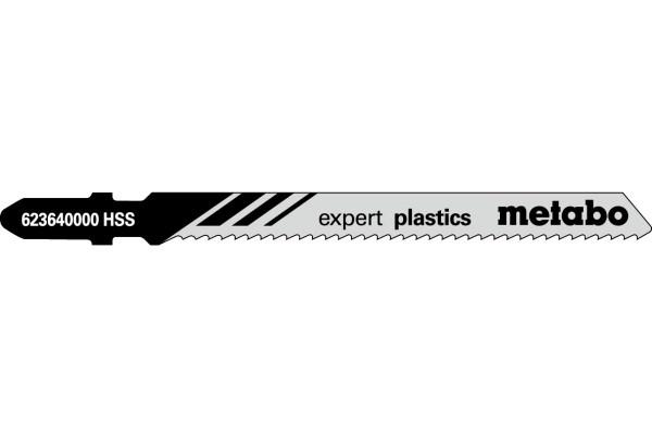 5 Stichsägeblätter T101A/HSS Plexi/NE-Metalle <20