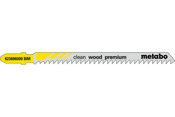 5 Stichsägeblätter T301CDF/BIM Holz/fein 4-65mm