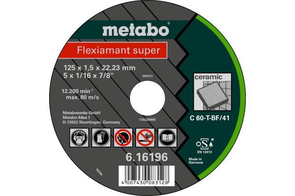 Trennscheibe Flexiam.sup. 125x1,5x22,2 FlieseC60T,1