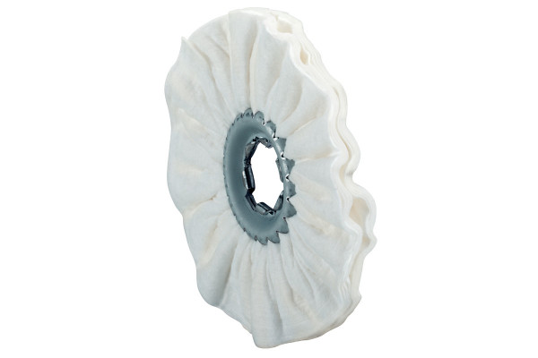 8 Vlies-Polierringe 100 x 10 mm, weich