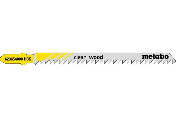 5 Stichsägeblätter T301CD/HCS Holz/fein 4-65mm