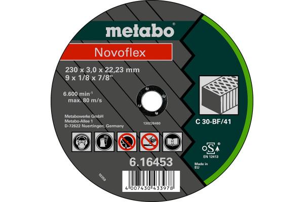 Trennscheibe,Novoflex 230x3,0x22,2, SteinC30,1