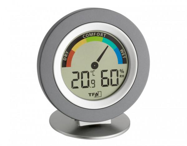 Thermo-Hygrometer digital Cosy anthrazit TFA 30.5019