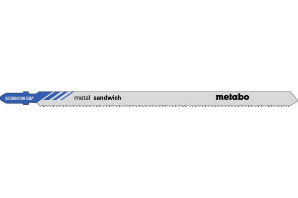5 Stichsägeblätter T718BF/BIM Metall/Profile <120mm