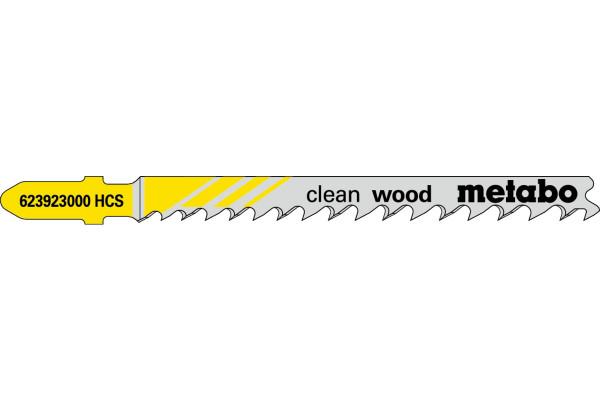 5 Stichsägeblätter T101D/HCS/Prog Holz/fein 10-45mm