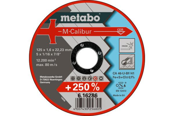 Trennscheibe M-Calibur125x1,6x22,2 INOX CA46U,2
