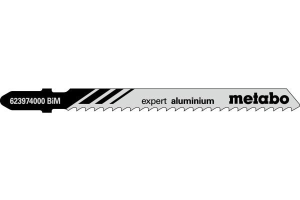 5 Stichsägeblätter T127DF/BIM Alu/NE-Metalle<30
