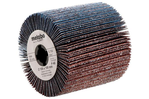 Lamellenschleifrad 105 x 100 mm P180 satinieren
