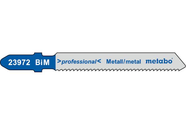 5 Stichs.-blätter T118EF/BIM Metall/Blech 2-5mm