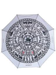 Schirm Scherenschnitt Nr. 7