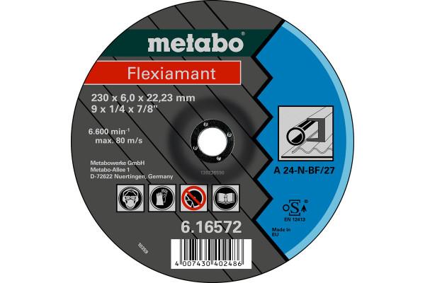 Schruppscheibe Flexiam. 150x6,0x22,2, Stahl A24N