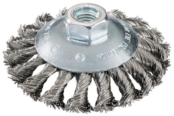 Rundbürste 100x0.50/M14,Stahl;gezopft