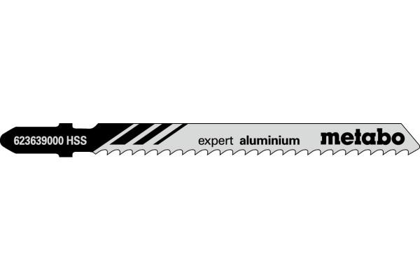 5 Stichsägeblätter T127D/HSS Alu/NE-Metalle<30