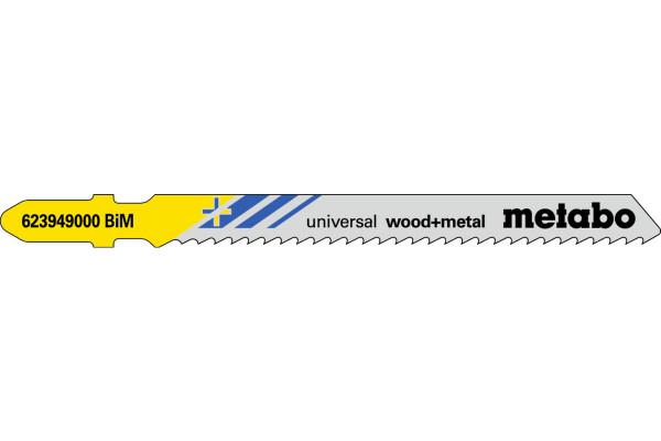 5 Stichsägeblätter T111HF/BIM Holz mit Nägel <60