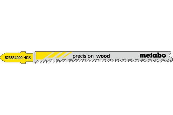 5 Stichsägeblätter T308BP/HCS sehr fein 2.2-50mm