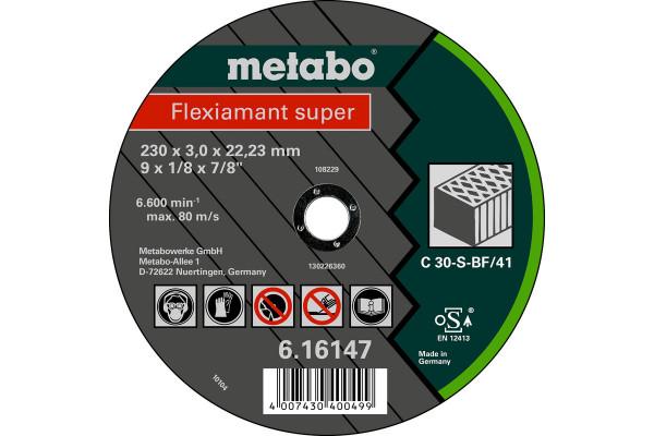Trennscheibe Flexiam.sup. 230x3,0x22,2 Stein C30S,1
