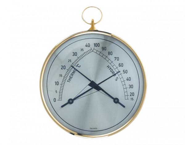 Thermo-Hygrometer Messing 102x35x113mm TFA 45.2005