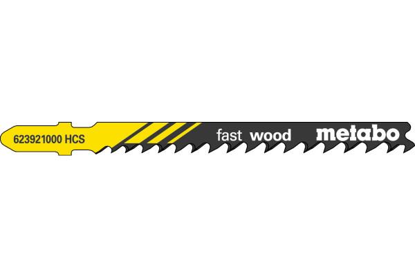 5 Stichsägeblätter T144D/HCS/Prog Holz/grob 4-50mm