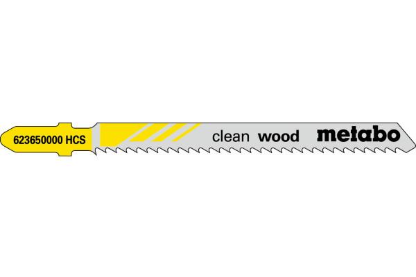 5 Stichsägeblätter T101BR/HCS Holz/!R! 3-30mm