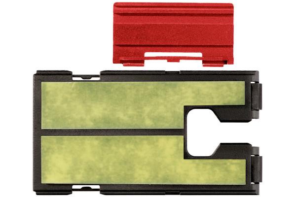 Schutzplatte Kunstst. für Stichsäge mit Pertinax+?