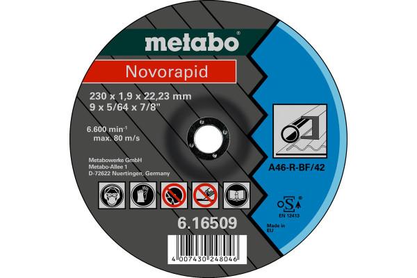 Trennscheibe Novorapid 230x1,9x22,2, Stahl, A60R,2