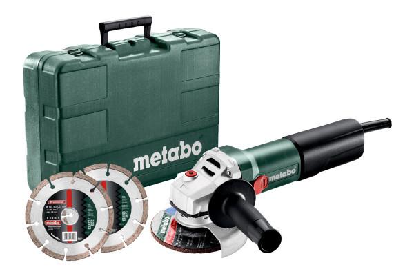 WEQ 1400-125 Set Winkelschleifer